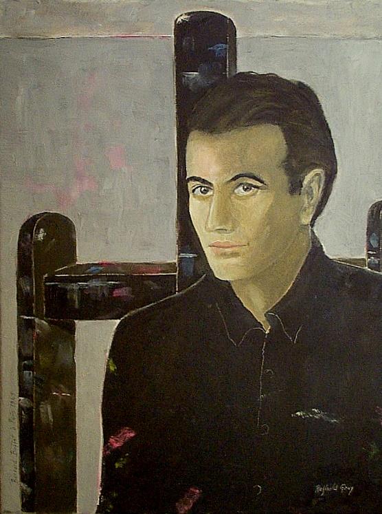 Portrait de Bernard Buffet, Paris 1964, gemeinfrei